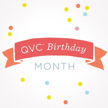 QVC Birthday Month: The Party's Here — Find special offers worth celebrating