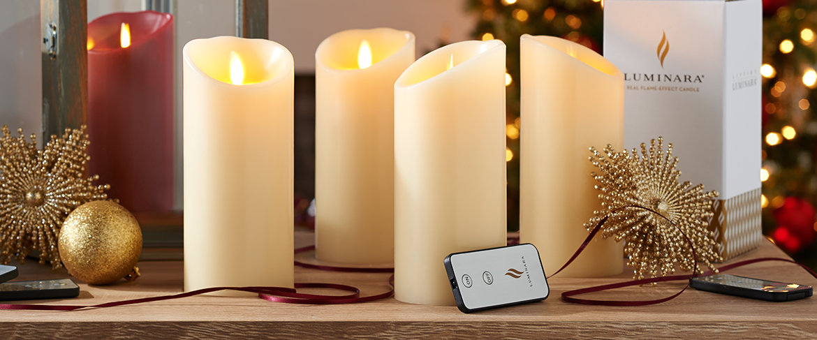 Qvc Flameless Candles Custom QVC Luminara 60 Flameless Candles With Remotes And Gift Boxes