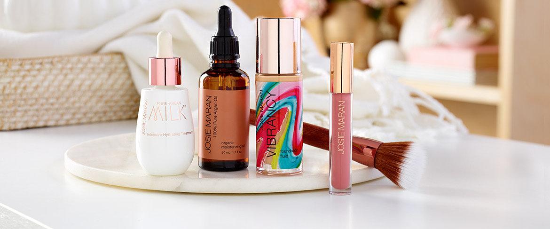 Qvc Josie Maran Vibrant Milky Skin Argan 5 Piece Kit