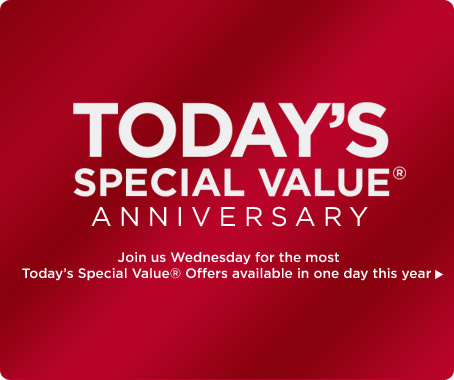 Today's Special Value(R) Anniversary
