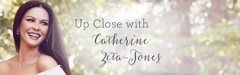 Up Close with Catherine Zeta-Jones