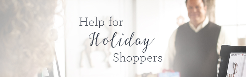 Help for Holiday Shoppers. David's Top 3 Holiday Gift Picks