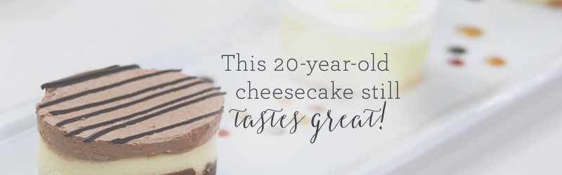 This 20-Year-Old Cheesecake Still Tastes Great!