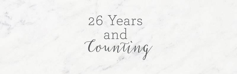 26 Years & Counting