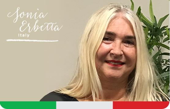 Sonia Erbetta. Italy