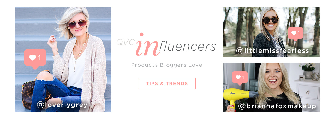 QVC Products Bloggers Love. TIPS & TRENDS