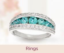 Diamonique(R) Rings