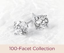 Diamonique(R) 100-Facet Collection