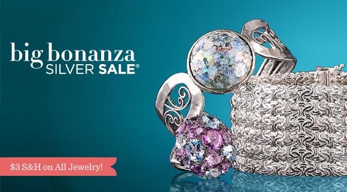 Big Bonanza Silver Sale R — QVC