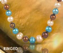 Honora cultured freshwater pearl Santa Fe strand