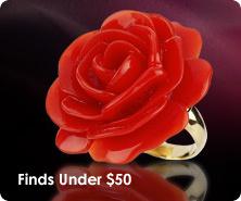 Kenneth Jay Lane Wild Rose ring