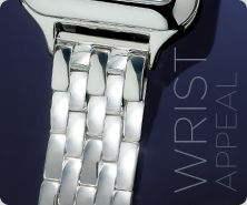 UltraFine(R) Silver Watch