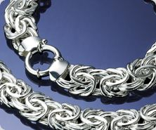 Sterling Necklace or Bracelet