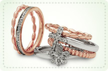 Metal stack rings