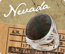 Sterling gemstone bold oval ring