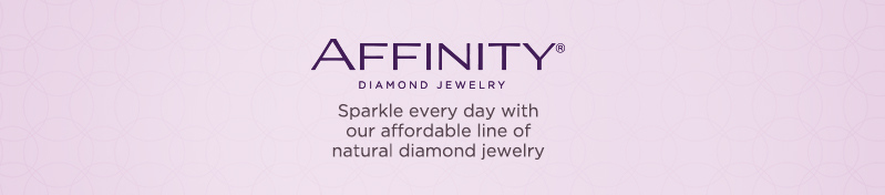 Affinity Diamond Jewelry. Sparkle every day with our affordable line of natural diamond jewelry