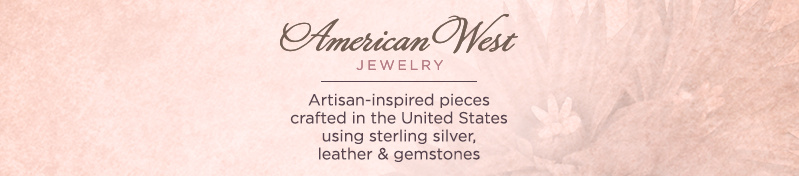 American West Jewelry — Artisan-inspired pieces crafted in the United States using sterling silver, leather & gemstones