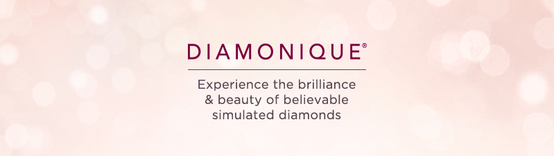 Diamonique. Experience the brilliance & beauty of believable simulated diamonds.