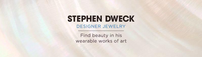 Stephen Dweck. Find beauty in his wearable works of art