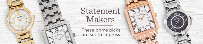 Statement Makers. These prime picks are set to impress.