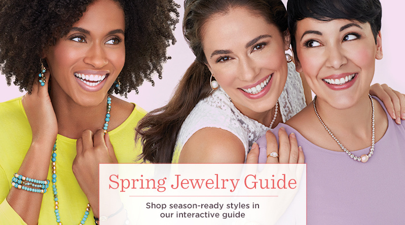 Spring Jewelry Guide — Shop season-ready styles in our interactive guide
