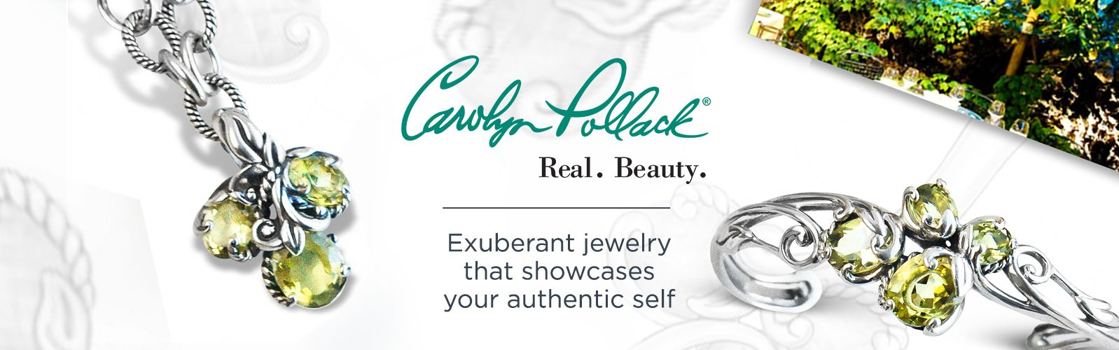 Carolyn Pollack. Exuberant jewelry that showcases your authentic self