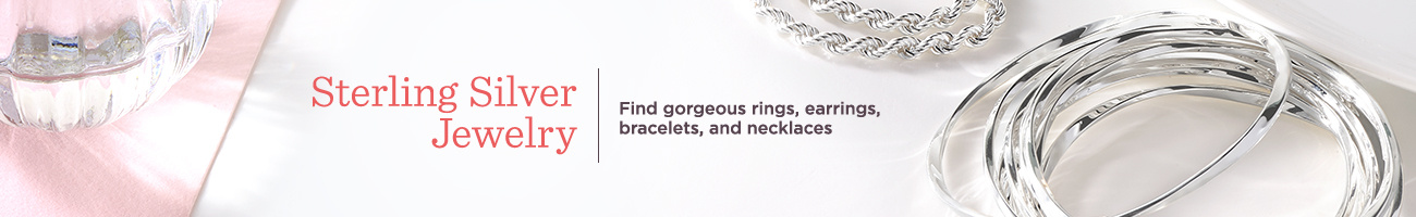 Sterling Silver Jewelry — Find gorgeous rings, earrings, bracelets, and necklaces