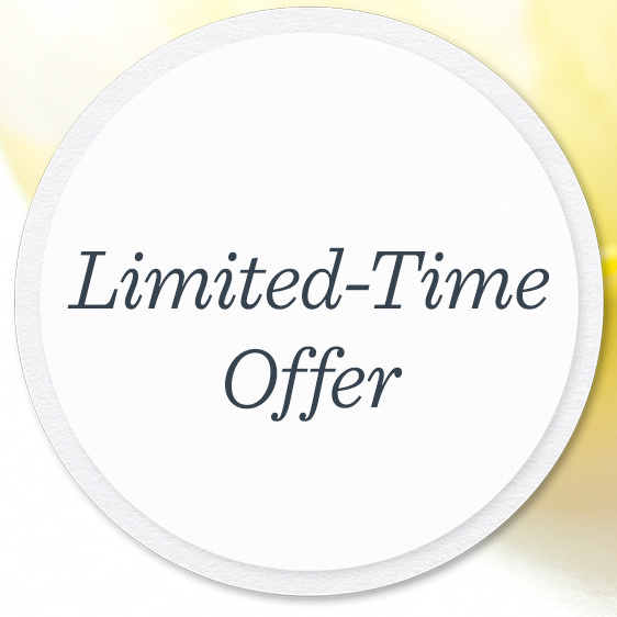 Limited-Time Offer. Shipping Offers on Select Designs