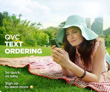 QVC Text Ordering