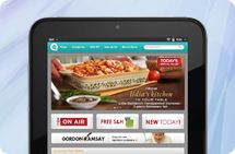 Download the QVC for HP TouchPad app