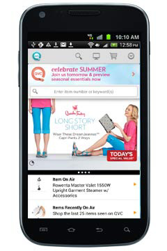 qvc for android qvc mobile services qvc everywhere qvc com