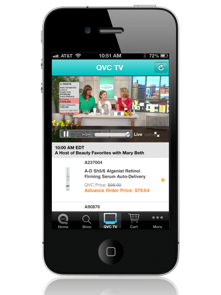 QVC for iPhone — QVC Everywhere — QVC.com