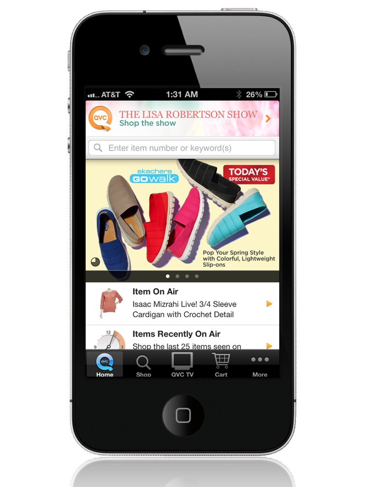 qvc for iphone qvc everywhere qvc com