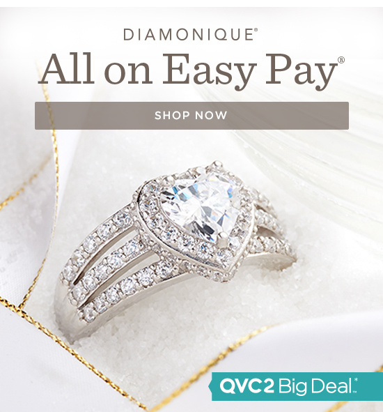 All Diamonique(R) on Easy Pay(R)
