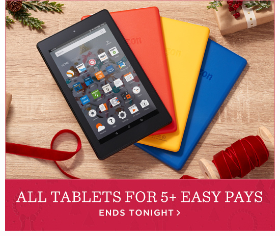 All Tablets for 5+ Easy Pays