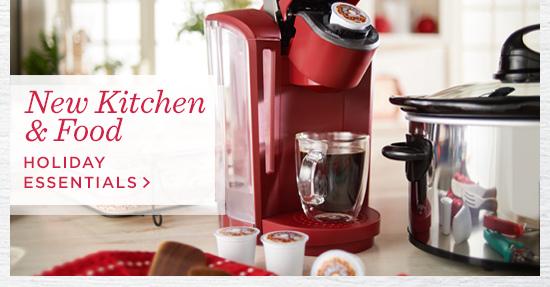 New Kitchen & Food  Holiday Essentials