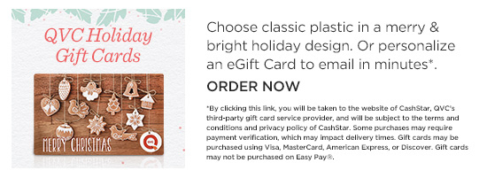 QVC Holiday Gift Cards