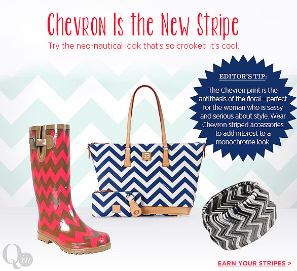 Chevron Is the New Stripe