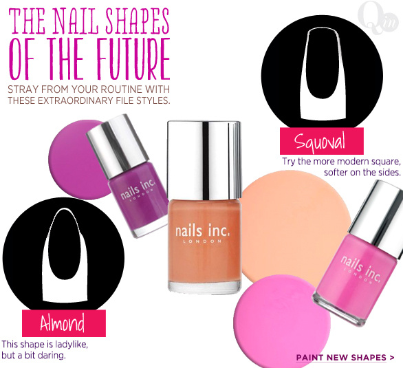 The Nail Shapes of the Future
