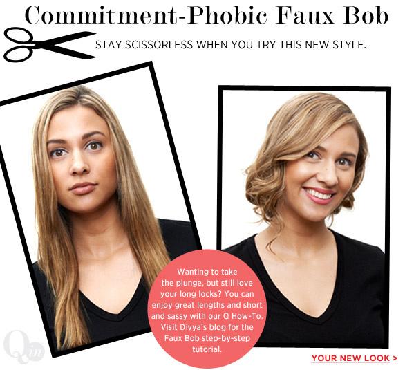 Commitment-Phobic Faux Bob