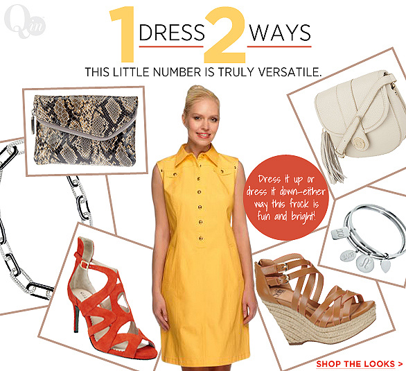 1 Dress, 2 Ways