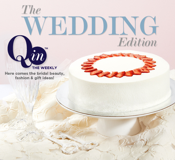 Q In Weekly Magazine The Wedding Edition