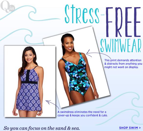 Stress-Free Swimwear