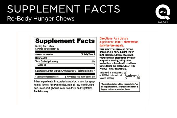 Re-Body Appetite Control Soft Chews