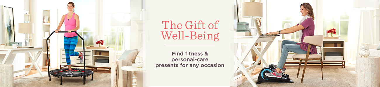 The Gift of Well-Being  Find fitness & personal-care presents for any occasion