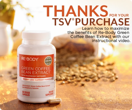 Re-Body Green Coffee Bean Extract with Svetol