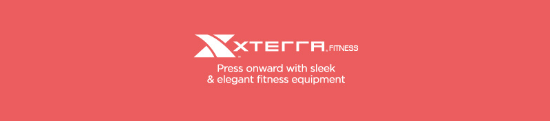 Xterra — Press onward with sleek & elegant fitness equipment
