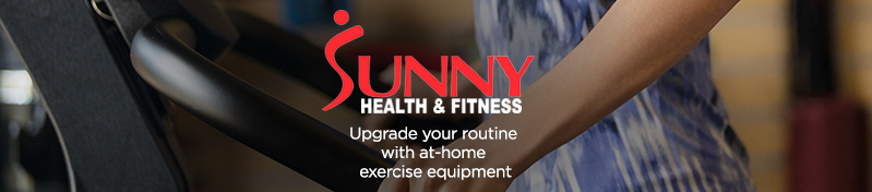 Sunny Health & Fitness — Upgrade your routine with at-home exercise equipment