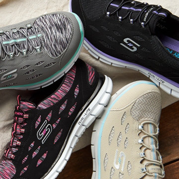 Sporty Footwear. Find styles for casual weekends & daily workouts.
