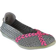 Bernie Mev Woven Slip-on Braided Catwalk Flats - S8700